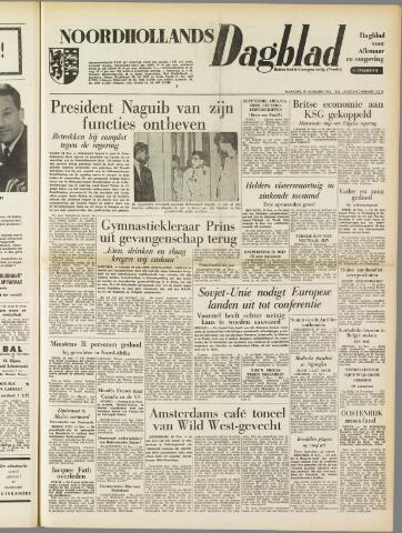 Noordhollands Dagblad : dagblad voor Alkmaar en omgeving 1954-11-15