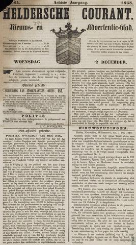 Heldersche Courant 1868-12-02