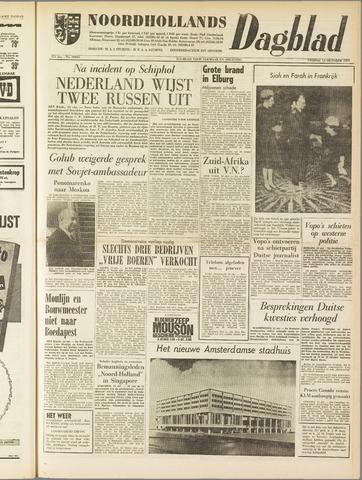 Noordhollands Dagblad : dagblad voor Alkmaar en omgeving 1961-10-13
