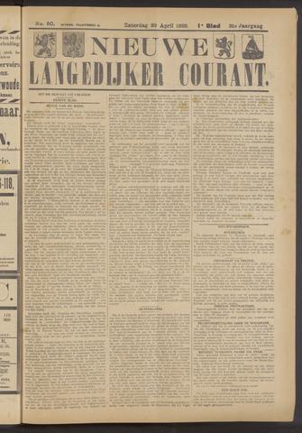 Nieuwe Langedijker Courant 1922-04-29