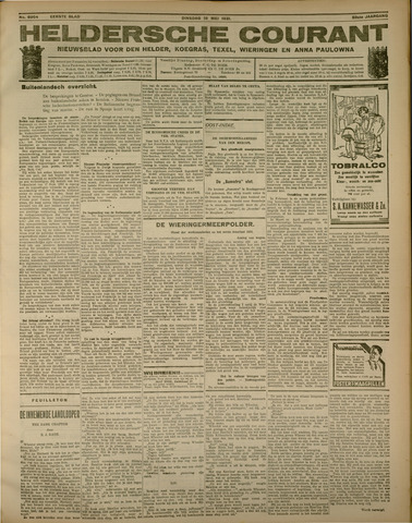 Heldersche Courant 1931-05-19