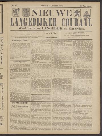 Nieuwe Langedijker Courant 1894-10-07