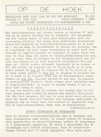 Op De Hoek, weekblad voor Akersloot 1964-07-17