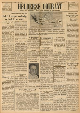 Heldersche Courant 1948-01-09
