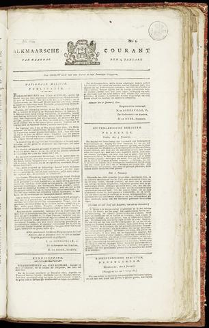 Alkmaarsche Courant 1822-01-14