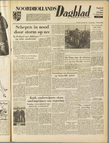 Noordhollands Dagblad : dagblad voor Alkmaar en omgeving 1954-01-04