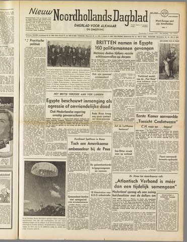Nieuw Noordhollandsch Dagblad : voor Alkmaar en omgeving 1952-01-17