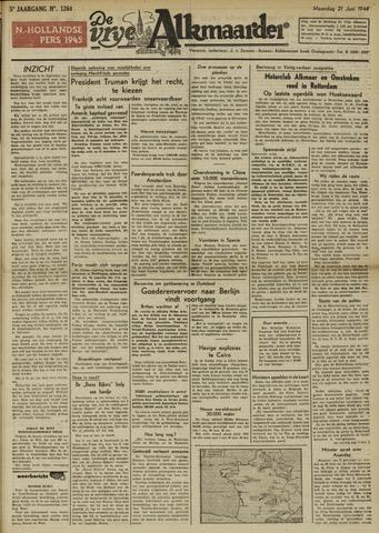 De Vrije Alkmaarder 1948-06-21