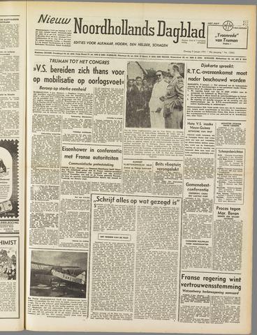 Nieuw Noordhollandsch Dagblad : voor Alkmaar en omgeving 1951-01-09