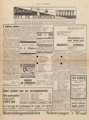 Contact met de Egmonden 1965-10-14