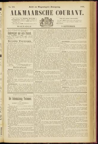 Alkmaarsche Courant 1896-09-09