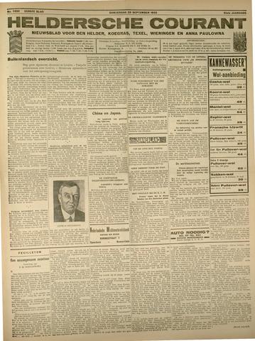 Heldersche Courant 1933-09-28