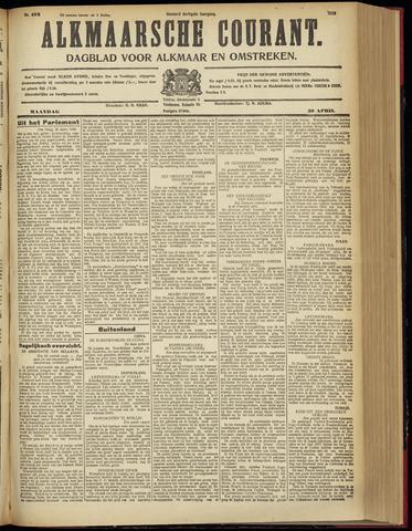 Alkmaarsche Courant 1928-04-30