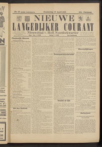 Nieuwe Langedijker Courant 1929-04-18