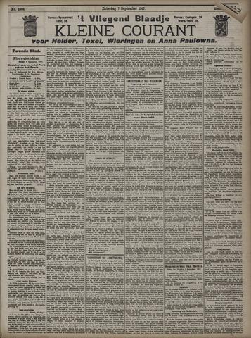 Vliegend blaadje : nieuws- en advertentiebode voor Den Helder 1907-09-07
