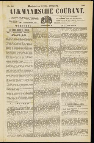 Alkmaarsche Courant 1905-08-16