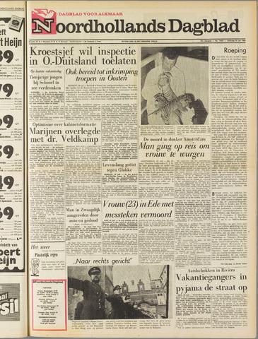Noordhollands Dagblad : dagblad voor Alkmaar en omgeving 1963-07-20