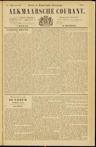 Alkmaarsche Courant 1895-12-13