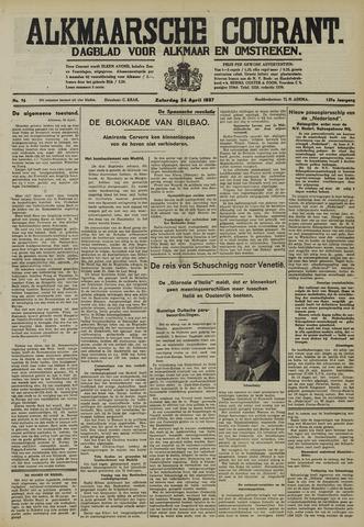 Alkmaarsche Courant 1937-04-24