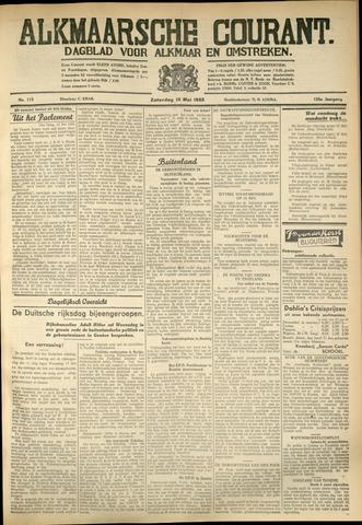 Alkmaarsche Courant 1933-05-13