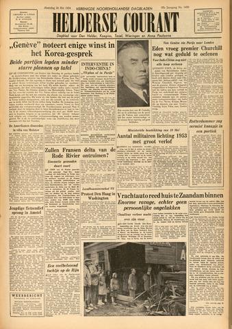 Heldersche Courant 1954-05-24