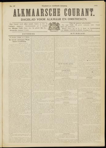 Alkmaarsche Courant 1912-02-24
