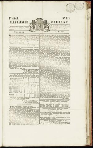 Alkmaarsche Courant 1843-03-13