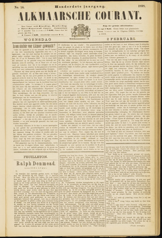 Alkmaarsche Courant 1898-02-02