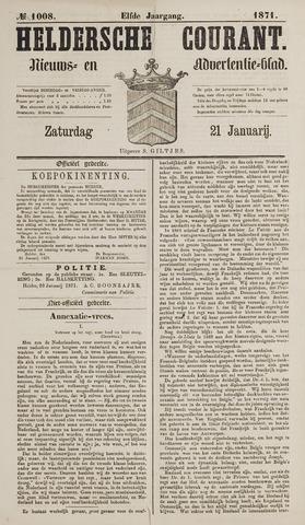 Heldersche Courant 1871-01-21