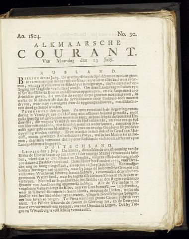 Alkmaarsche Courant 1804-07-23