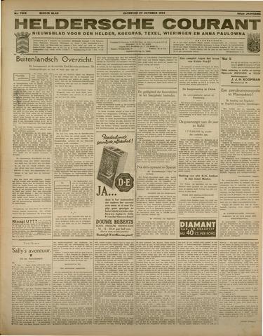 Heldersche Courant 1934-10-27