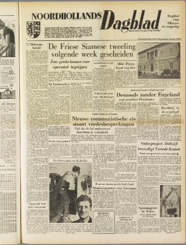 Noordhollands Dagblad : dagblad voor Alkmaar en omgeving 1954-05-20