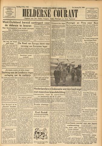 Heldersche Courant 1950-11-25