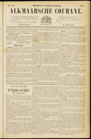 Alkmaarsche Courant 1899-04-21