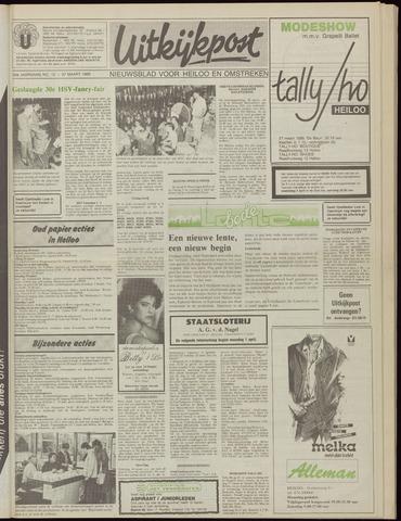 Uitkijkpost : nieuwsblad voor Heiloo e.o. 1985-03-27