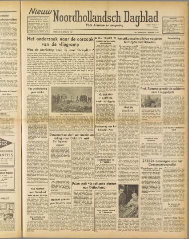 Nieuw Noordhollandsch Dagblad : voor Alkmaar en omgeving 1947-01-28