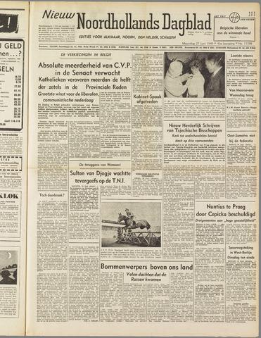 Nieuw Noordhollandsch Dagblad : voor Alkmaar en omgeving 1949-06-27
