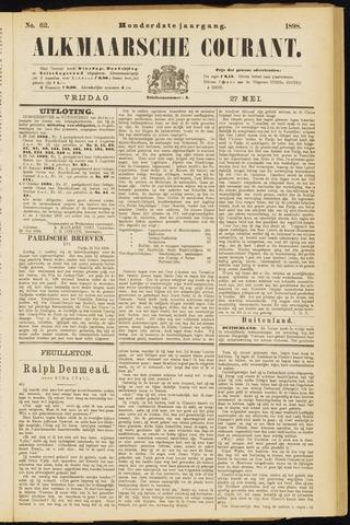 Alkmaarsche Courant 1898-05-27