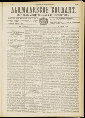 Alkmaarsche Courant 1913-10-29