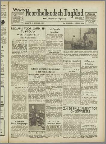 Nieuw Noordhollandsch Dagblad : voor Alkmaar en omgeving 1946-09-10