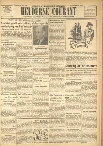 Heldersche Courant 1949-11-30