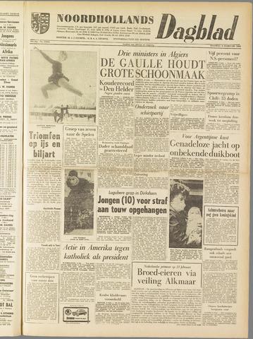 Noordhollands Dagblad : dagblad voor Alkmaar en omgeving 1960-02-08