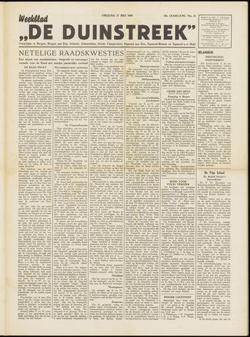 De Duinstreek 1949-05-27
