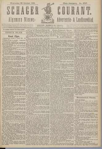 Schager Courant 1920-10-20