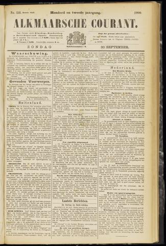 Alkmaarsche Courant 1900-09-30