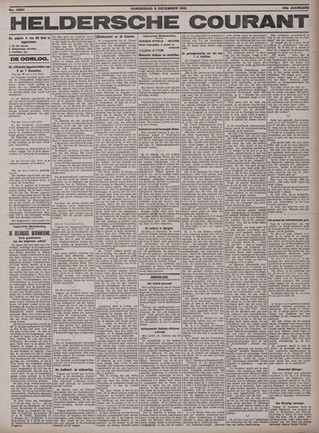Heldersche Courant 1915-12-09