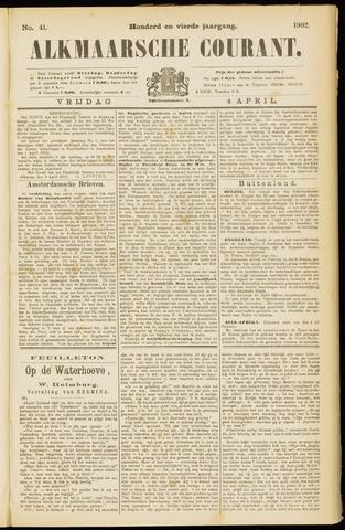 Alkmaarsche Courant 1902-04-04