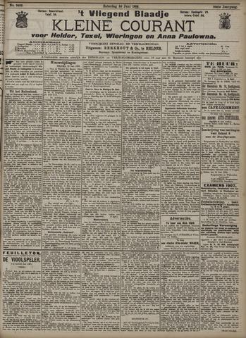 Vliegend blaadje : nieuws- en advertentiebode voor Den Helder 1906-06-30