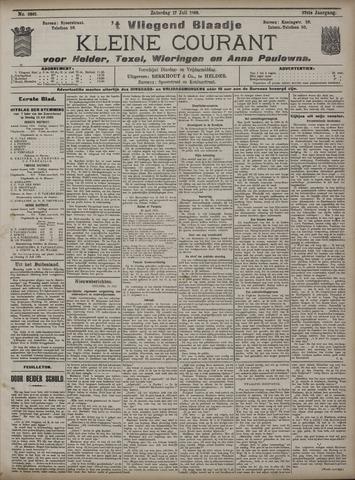 Vliegend blaadje : nieuws- en advertentiebode voor Den Helder 1909-07-17
