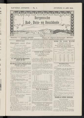Bergensche bad-, duin- en boschbode 1924-06-14
